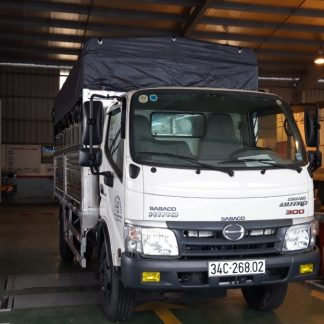 xe tải hino, xe tải hino 5 tấn thùng mui bạt