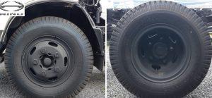 lốp trước sau hino 5 tấn nhập khẩu dutro